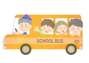 スクールバスの素材 [FYI01059999]
