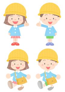 幼稚園児の素材 [FYI01060006]