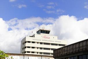 ホノルル国際空港の建物 オワフ島の素材 [FYI01061470]