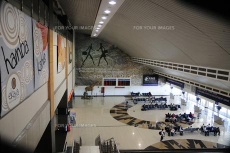 ヨハネスブルグ国際空港の構内の素材 [FYI01061542]