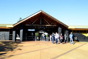 イグアスの滝国立公園の入り口の素材 [FYI01061658]