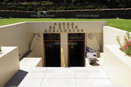 コリカンチャ博物館の入り口の素材 [FYI01062897]