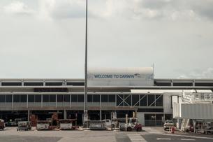 ダーウィン空港の建物の素材 [FYI01063090]
