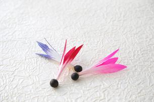 羽子板の羽根の素材 [FYI01065765]