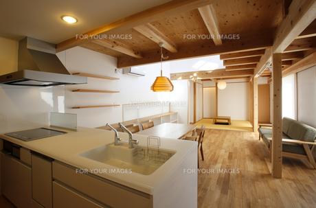 住宅のキッチンの素材 [FYI01066146]
