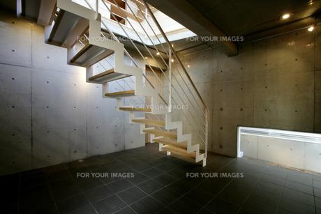 住宅,階段の素材 [FYI01066219]