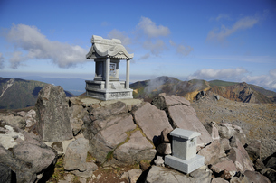 那須茶臼岳山頂の素材 [FYI01072096]