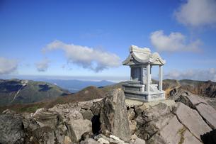那須茶臼岳山頂の素材 [FYI01072139]