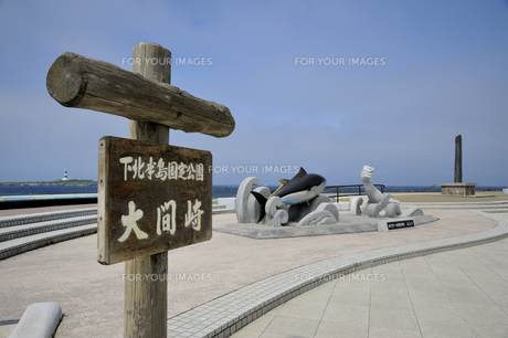 大間崎と弁天島の素材 [FYI01072974]