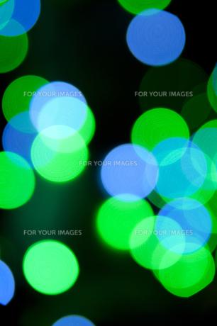 緑と青の光のソフトフォーカスの素材 [FYI01079219]