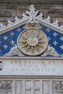 ヴェッキオ宮殿(市庁舎)の入り口レリーフの素材 [FYI01080622]