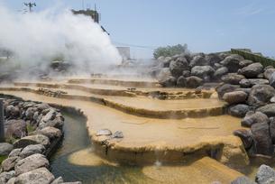 小浜温泉湯煙の素材 [FYI01080631]
