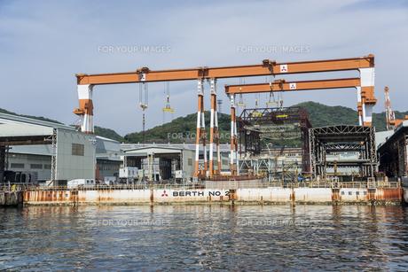 三菱長崎造船所の戦艦武蔵を造った場所の素材 [FYI01081020]