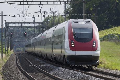 スイス国鉄 特急列車の素材 [FYI01082163]