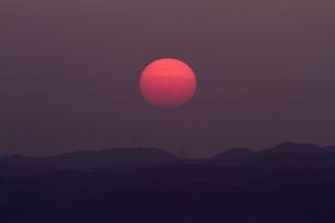 夕日の素材 [FYI01082183]