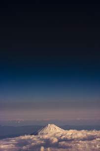富士山 空撮の素材 [FYI01082694]