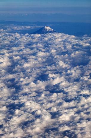 富士山 空撮の素材 [FYI01082739]
