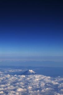 富士山 空撮の素材 [FYI01082740]