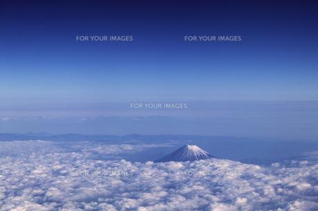 富士山 空撮の素材 [FYI01082814]