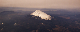 富士山 空撮の素材 [FYI01083117]