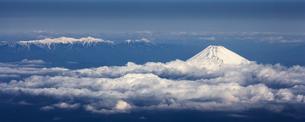 富士山 空撮の素材 [FYI01083129]