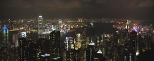 香港夜景の素材 [FYI01083151]