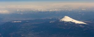 富士山 空撮の素材 [FYI01083166]