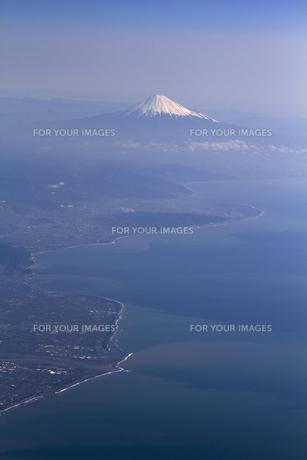 富士山 空撮の素材 [FYI01083291]