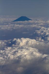 富士山 空撮の素材 [FYI01083307]