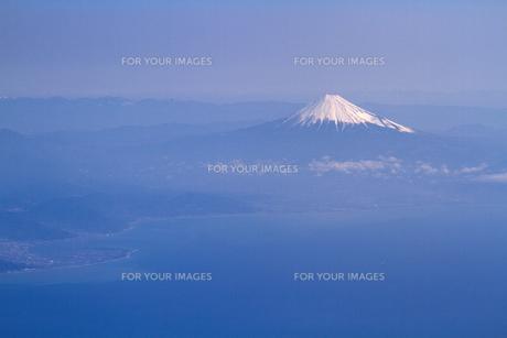 富士山 空撮の素材 [FYI01083318]