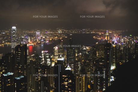 香港夜景の素材 [FYI01083404]