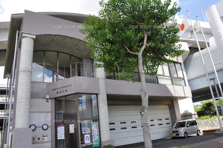 成田市消防本部三里塚消防署空港分署の素材 [FYI01084529]