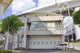 成田市消防本部三里塚消防署空港分署の素材 [FYI01084594]