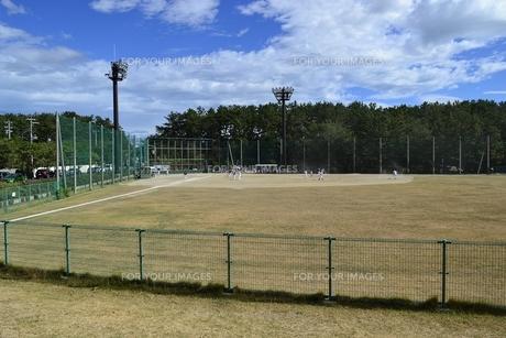 新潟市西海岸公園 少年野球広場の素材 [FYI01085667]
