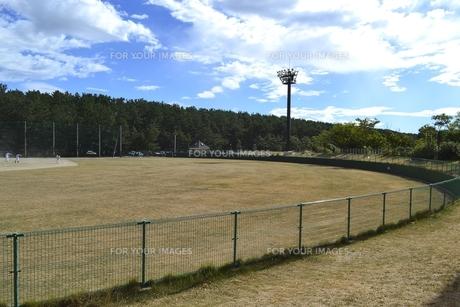 新潟市西海岸公園 少年野球広場の素材 [FYI01085893]
