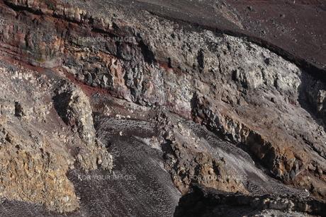 富士山頂噴火口の素材 [FYI01096332]
