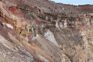 富士山頂噴火口の素材 [FYI01096487]