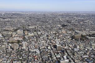 武蔵関駅空撮 南側より北側への素材 [FYI01106289]