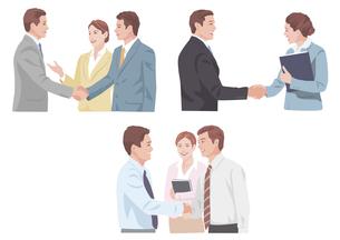 握手 商談の素材 [FYI01106656]