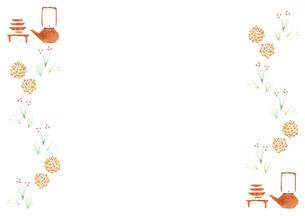 お正月小物のパターンの素材 [FYI01106774]
