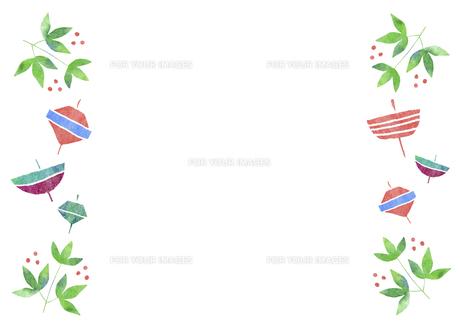 お正月小物のパターンの素材 [FYI01106800]