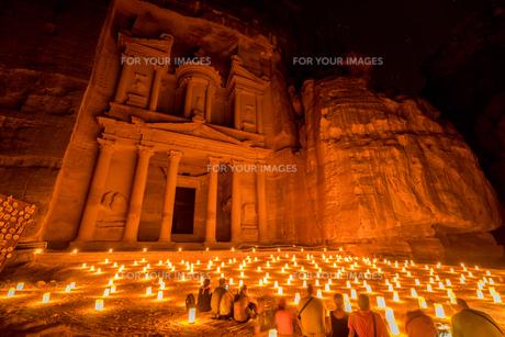 ヨルダン,ペトラ遺跡のペトラバイナイトの素材 [FYI01107108]