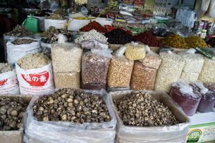 ベンタン 市場場内 豆類の専門店の素材 [FYI01107478]