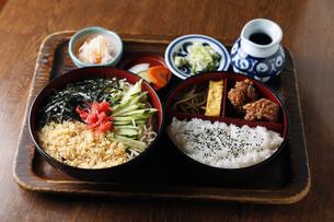 天ぷら蕎麦セットの素材 [FYI01112381]