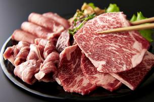和牛焼肉セットの素材 [FYI01112391]