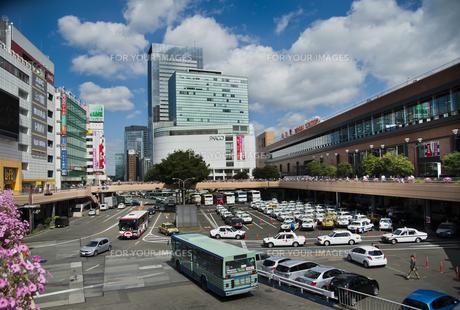 仙台駅前西口周辺の素材 [FYI01113393]