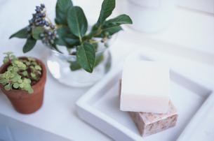 白い石鹸皿の素材 [FYI01117201]