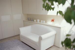白いソファの素材 [FYI01119880]
