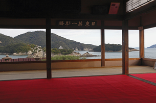 12月初冬 鞆の浦の対潮楼の素材 [FYI01130419]