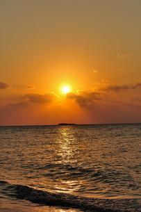日の入りの写真素材 [FYI01132208]